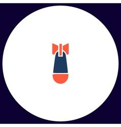 Air bomb computer symbol vector