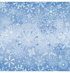christmas silvery seamless vector image