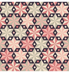 Fashion pattern with anise stars vector