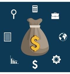 Finance economy design vector