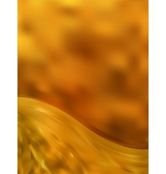Gold color abstract stripe background EPS 8 vector