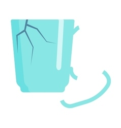 Household waste garbage trash icon vector image