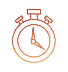 logistic delivery chronometer timer hour speed vector image