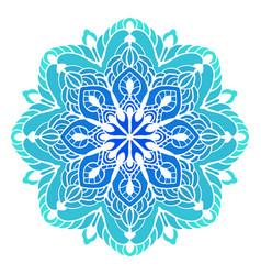 multicolor mandala vector image