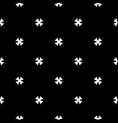 Seamless pattern black white minimalist texture vector