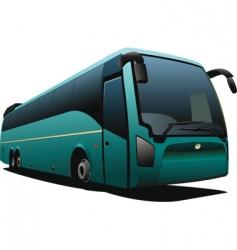 Tourist coach vector