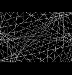 Abstraction with intersecting lines vector