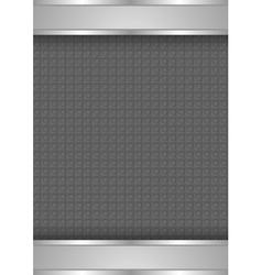 background template metallic texture vector image
