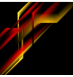 Hi-tech abstract striped background vector