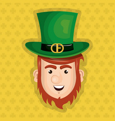 Leprechaun saint patrick day character vector