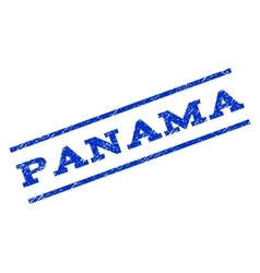 Panama Watermark Stamp vector image