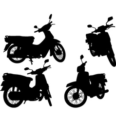 Scooters vector image vector image