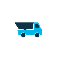 truck icon colored symbol premium quality vector image