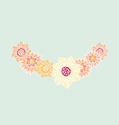FlowerElements24 vector image vector image