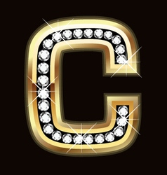 c bling vector image