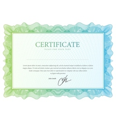 Certificate pattern that is used in currency vector