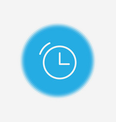 clock icon sign symbol vector image