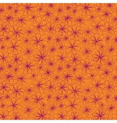 Colorful abstract seamless flower with stylized vector image