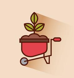 farm tool flat vector image
