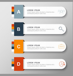 Infographic design and marketing icons vector