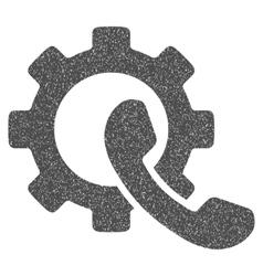 Phone Configuration Grainy Texture Icon vector