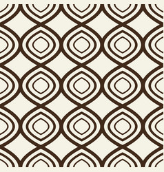 seamless pattern with identical geometrical vector image