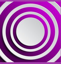 the background with purple circles from shadow vector image