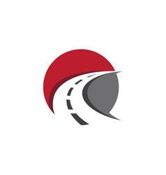 Way logo icon design vector
