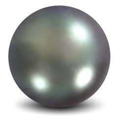Nacreous pearls vector image vector image