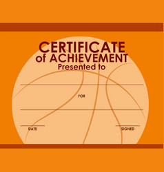 Basketball & Certificate Vector Images (54)