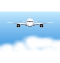 Civil Aircraft airplane vector image