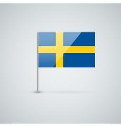 Flag sweden vector