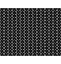 Grille Hexagonal cell texture vector image