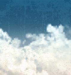 grunge sky background 0307 vector image