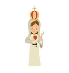 holy family icon image vector image