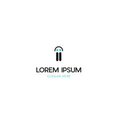Letter ii human people creative business logo vector