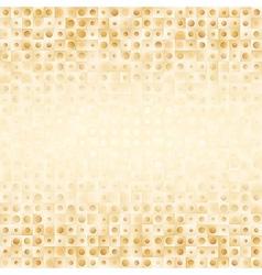 Luxury golden geometrical background vector image