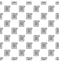 Office paper pattern seamless vector