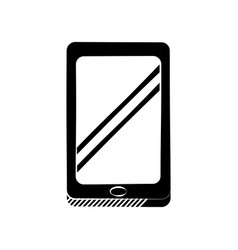 Smartphone technology communication pictogram vector