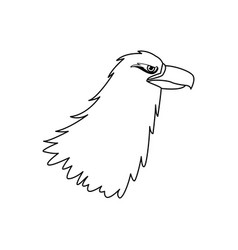 griffin mythological magic winged beast design vector image