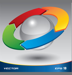pdcacicle3D vector image