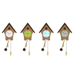 Cuckoo-clock set vector