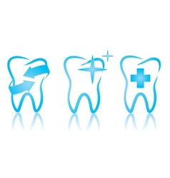 Dental set vector