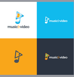 Music and video vector
