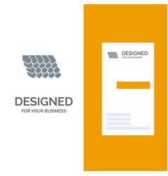 Rotile top construction grey logo design and vector