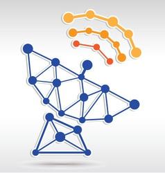 Sattle Network vector