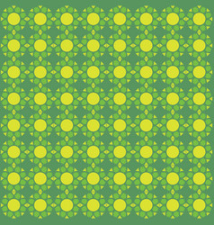 seamless pattern green background vector image