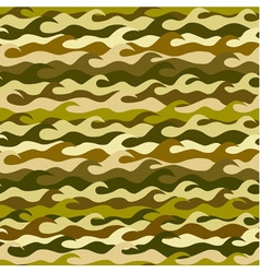 Seamless pattern made from sea waves vector