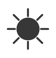 sun light sunlight icon graphic vector image
