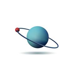 Threedimensional atom vector